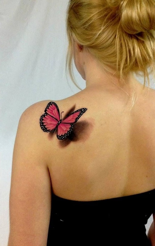 Shoulder Butterfly Tattoo Designs Ideas And Meaning Tattoos For You