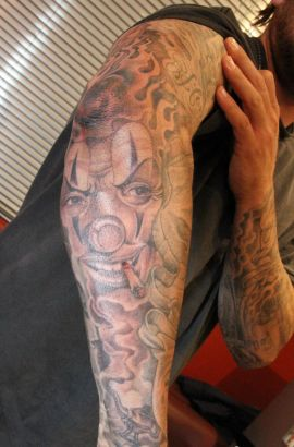 Joker Sleeve Tattoo Designs Ideas And Meaning Tattoos For You