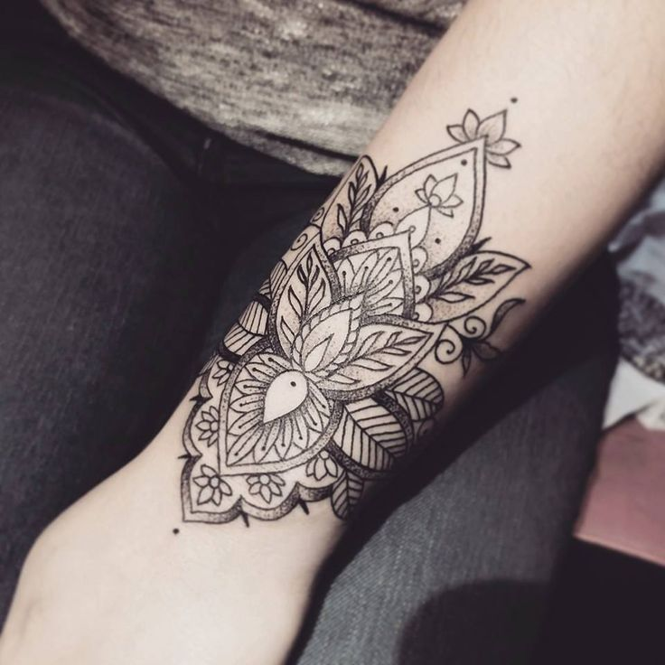 Mandala Wrist Tattoo Designs, Ideas And Meaning