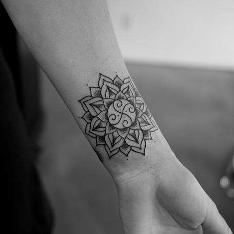 Mandala wrist tattoo designs ideas and meaning tattoos for you mandala wrist tattoo tumblr urmus Choice Image