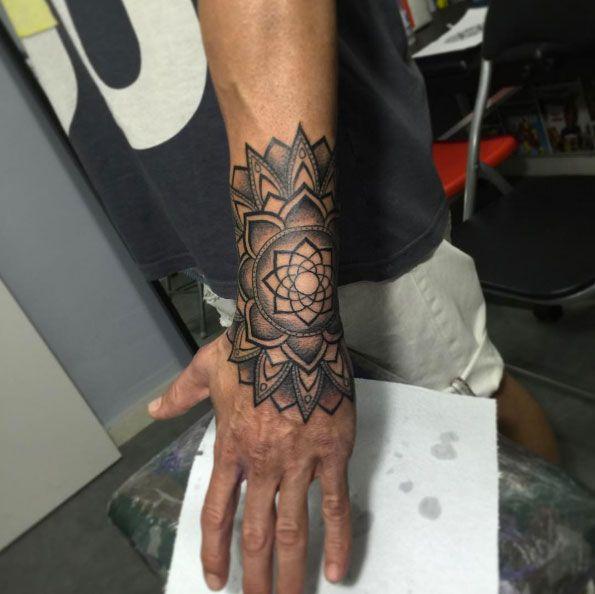 Mandala Wrist Tattoo Designs, Ideas And Meaning