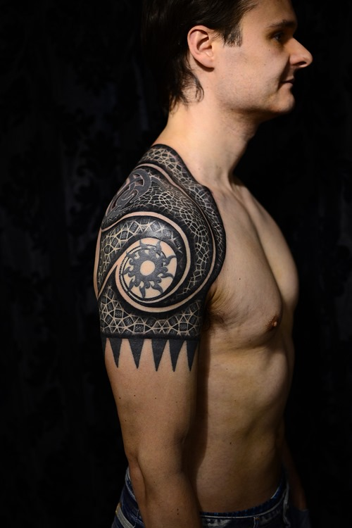 Shoulder Tattoos For Men Designs Ideas And Meaning Tattoos For You