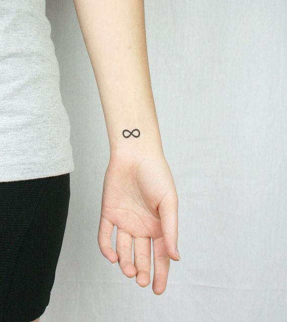 Infinity Tattoo On Wrist Designs Ideas And Meaning