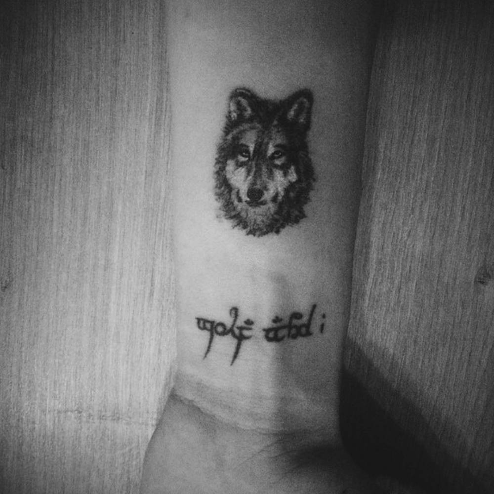 Wolf Wrist Tattoo Designs Ideas And Meaning