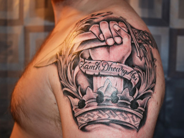 Shoulder Tattoos For Men Designs Ideas And Meaning border=