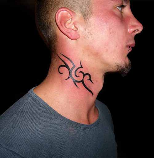 Neck Tattoos For Men Designs, Ideas And Meanings