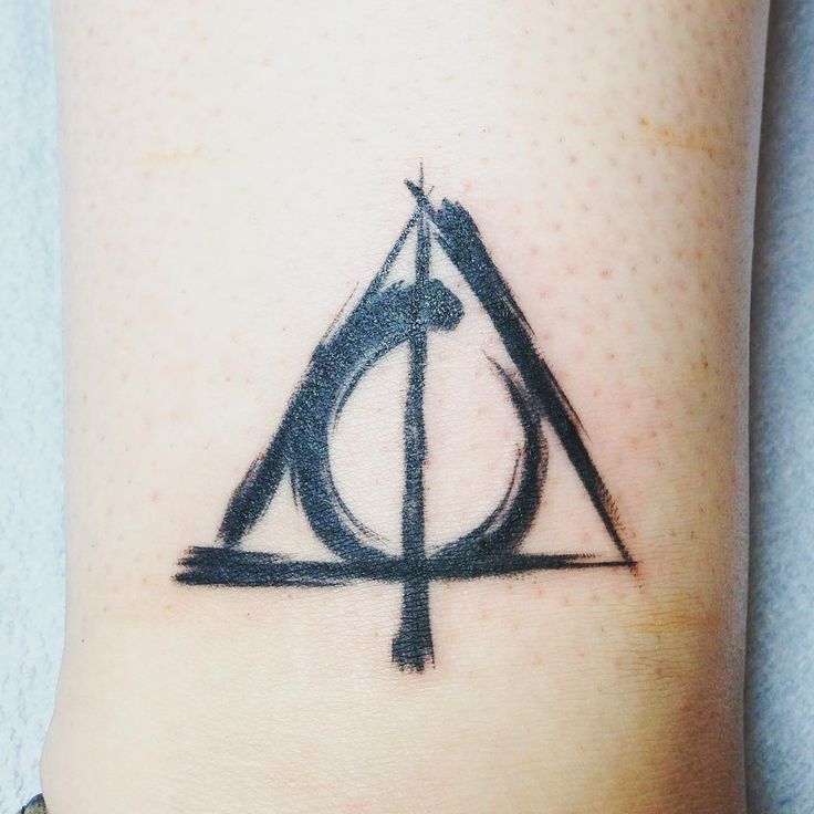 Deathly Hallows Tattoo Designs Ideas And Meaning Tattoos For You