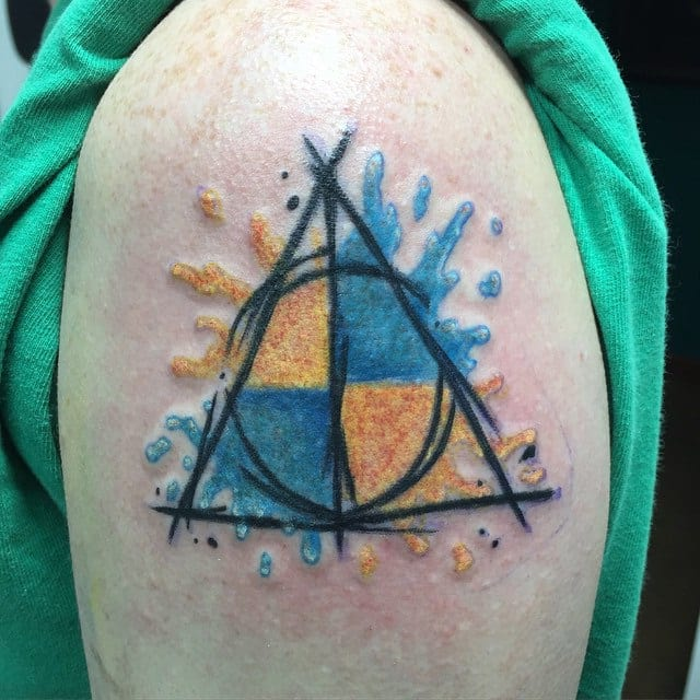 Deathly Hallows Tattoo Designs, Ideas And Meaning
