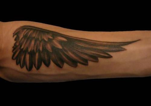 Forearm Wing Tattoo Designs Ideas And Meaning Tattoos For You