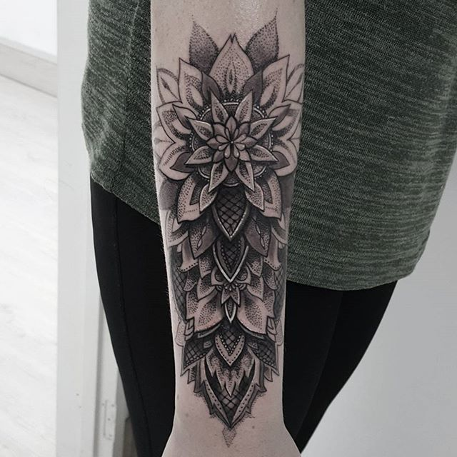 Mandala Forearm Tattoo Designs, Ideas and Meaning | Tattoos For You
