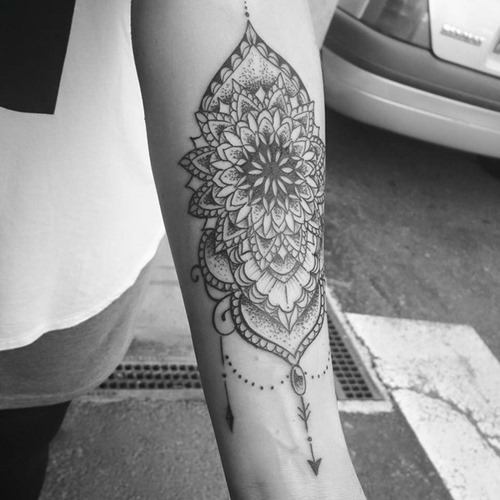 Mandala Tattoos Designs Ideas And Meaning: Mandala Forearm Tattoo Designs, Ideas And Meaning