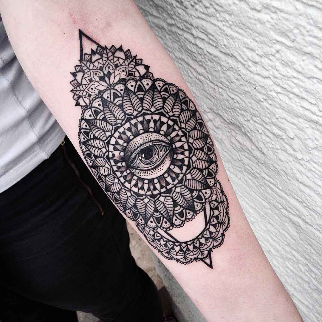 Mandala Wrist Tattoo Designs Ideas And Meaning: Mandala Forearm Tattoo Designs, Ideas And Meaning