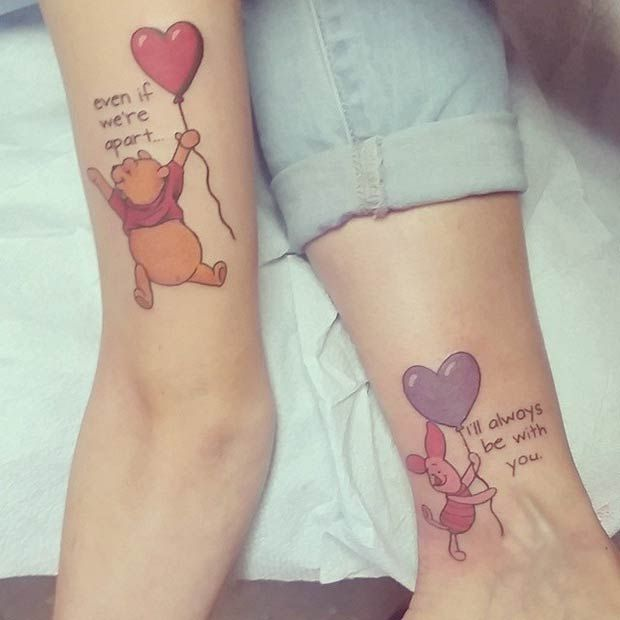 Mother Daughter Matching Tattoos Designs, Ideas and Meaning ...
