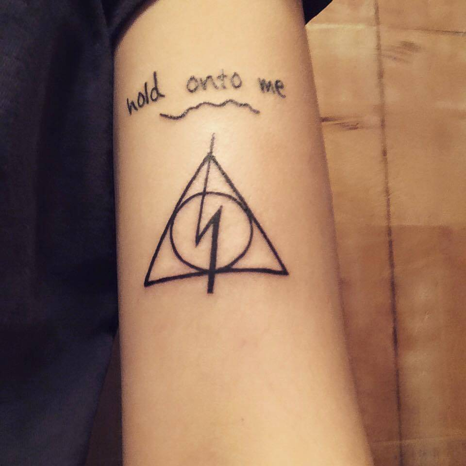 Deathly hallows tattoo designs ideas and meaning tattoos for you deathly hallows tattoo designs ideas and meaning buycottarizona