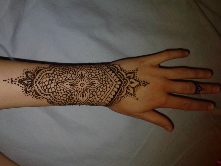 Mehndi Wrist Tattoo : Wrist henna tattoos designs ideas and meaning for you