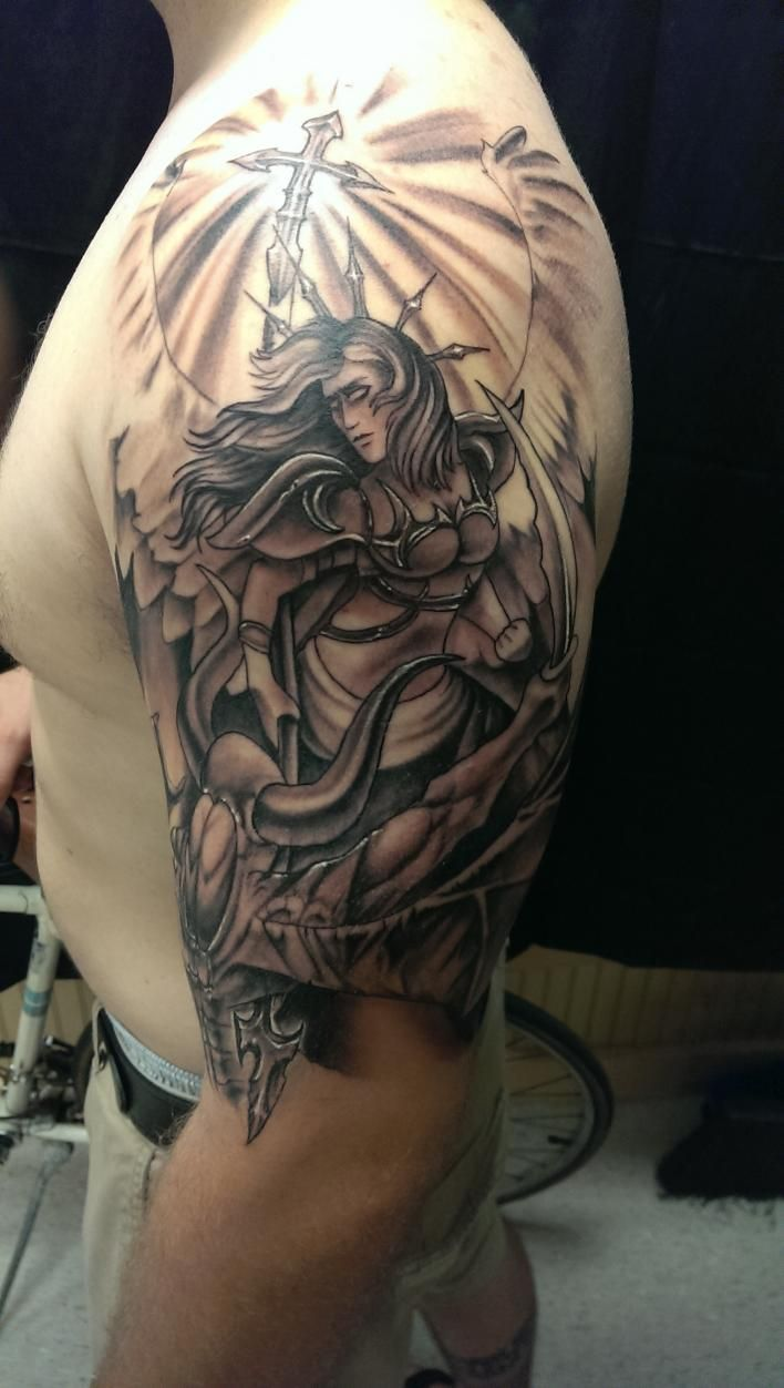 Religious tattoos for men designs ideas and meaning for Mens tattoos with meaning