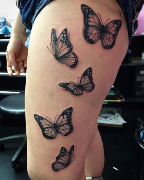 Side Thigh Tattoos Designs, Ideas and Meaning   Tattoos ...