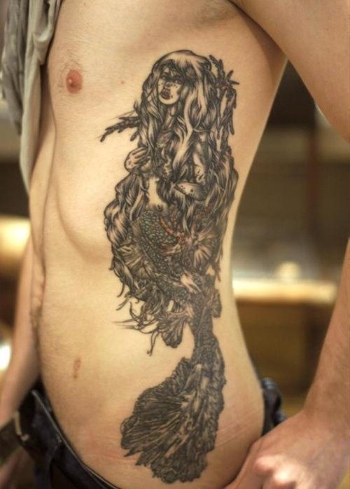 Side tattoos for men designs ideas and meaning tattoos for Men side tattoo