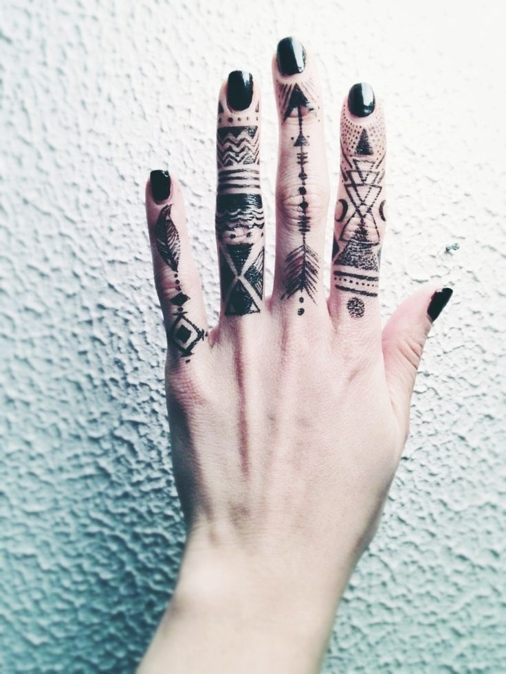 tribal finger tattoos designs ideas and meaning tattoos for you. Black Bedroom Furniture Sets. Home Design Ideas
