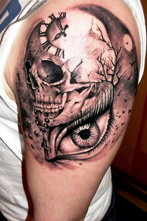 Upper Arm Tattoo Ideas For Men Upper Arm Tattoos for ...