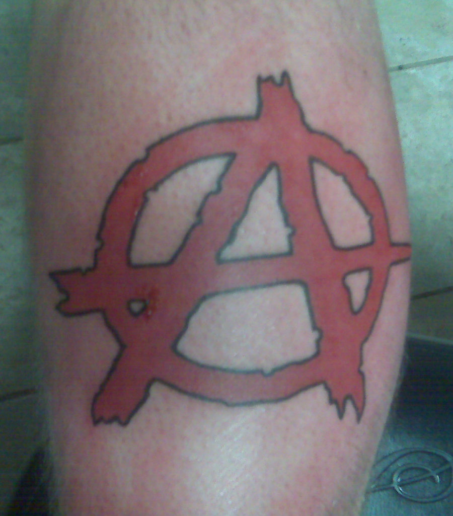 Anarchy Tattoo Designs, Ideas And Meaning