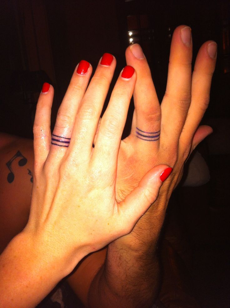 Wedding Finger Tattoos Designs, Ideas and Meaning | Tattoos For You