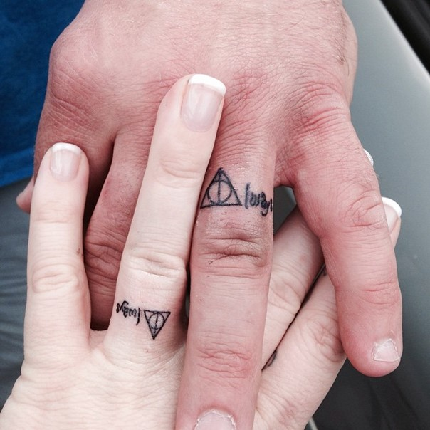 Tattoos of wedding