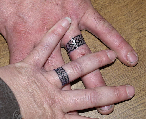 Wedding Finger Tattoos Designs Ideas and Meaning Tattoos For You