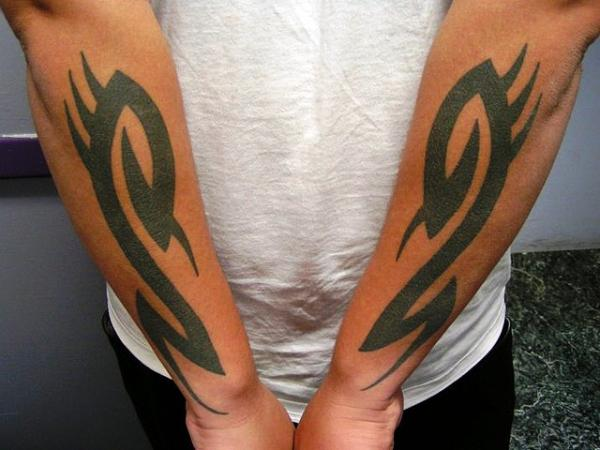 Tribal forearm tattoos designs ideas and meaning for Tribal tattoos for men forearm