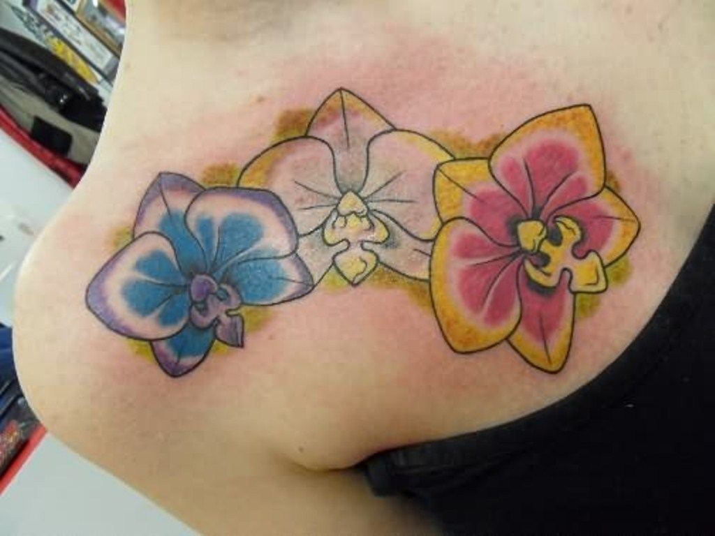 Front Shoulder Tattoos Designs, Ideas and Meaning ...