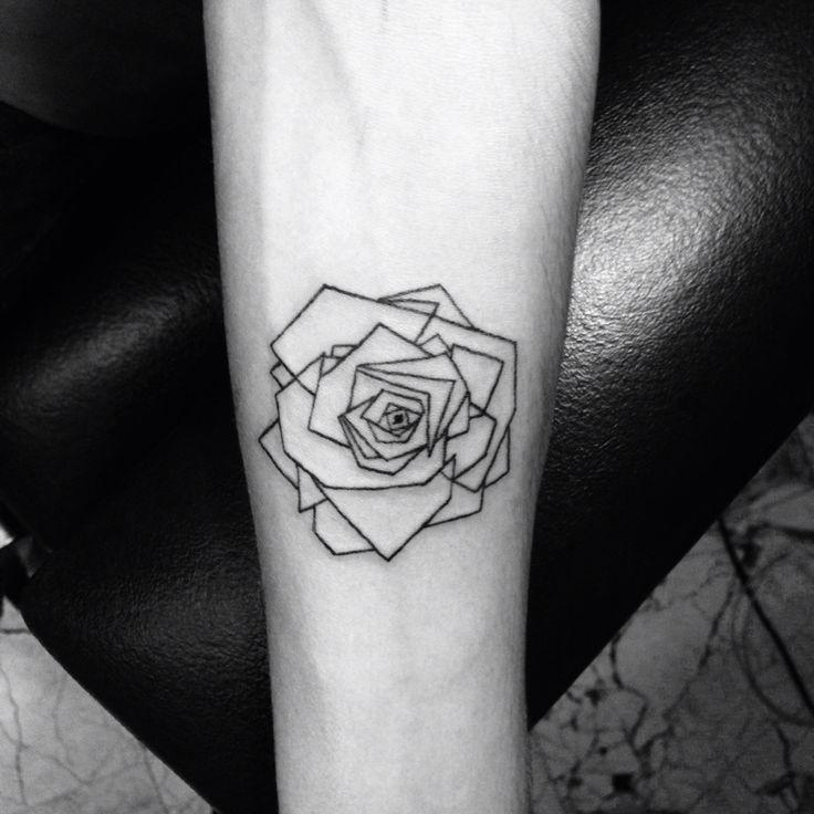 Geometric Flower Tattoo: Geometric Tattoos Designs, Ideas And Meaning