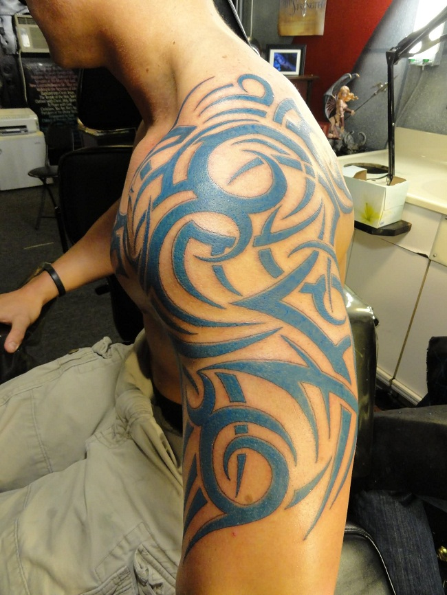 Tribal Shoulder Tattoos Designs, Ideas And Meaning
