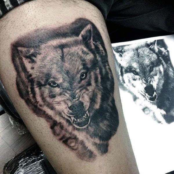 Tattoo Ideas Upper Thigh: Upper Thigh Tattoos Designs, Ideas And Meaning