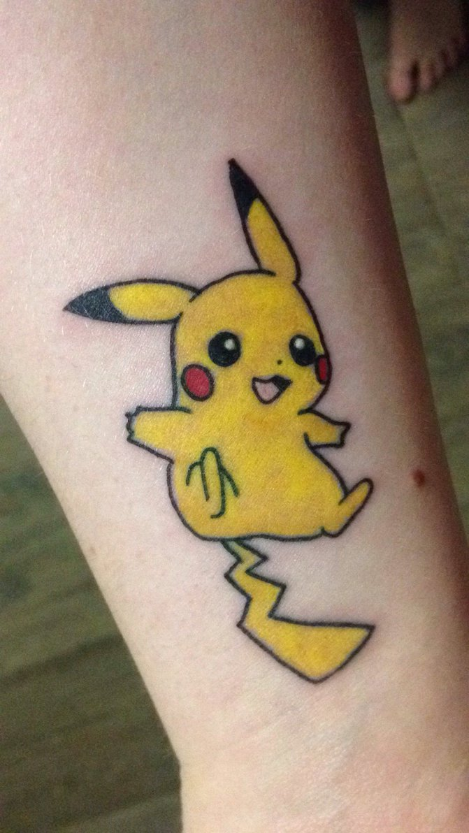 Pikachu Tattoo Designs, Ideas and Meaning | Tattoos For You