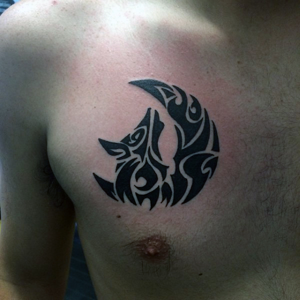 Tribal Chest Tattoos Designs, Ideas and Meaning | Tattoos ...