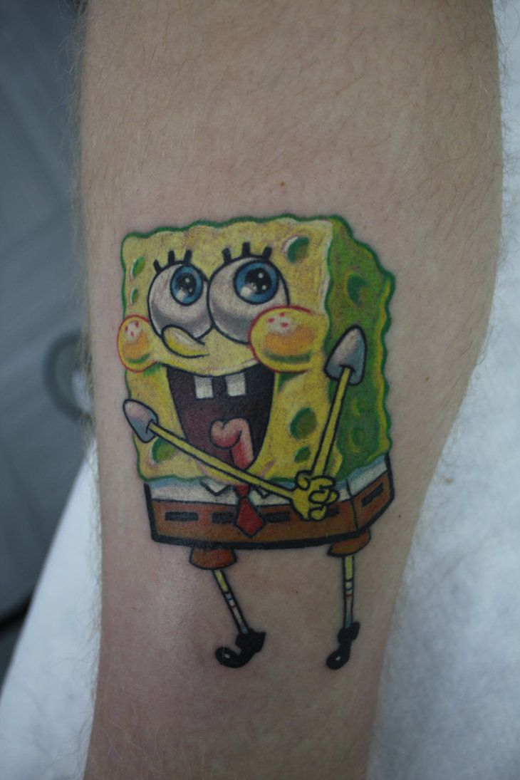 Spongebob Tattoos Designs Ideas And Meaning Tattoos For You