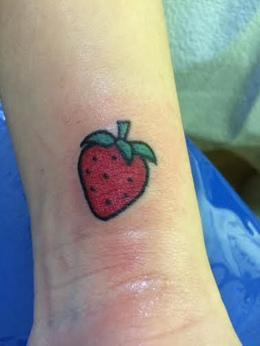 Strawberry Tattoo Designs Ideas And Meaning Tattoos For You