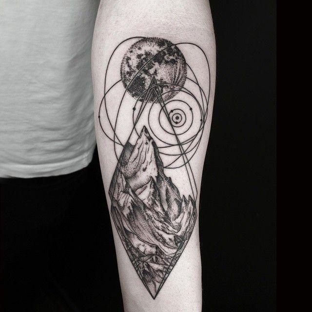 Stars and Dots Tattoo: Phoenix Tattoo