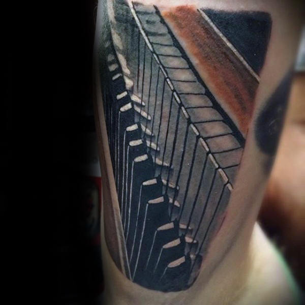 Piano Tattoo Designs Ideas And Meaning Tattoos For You