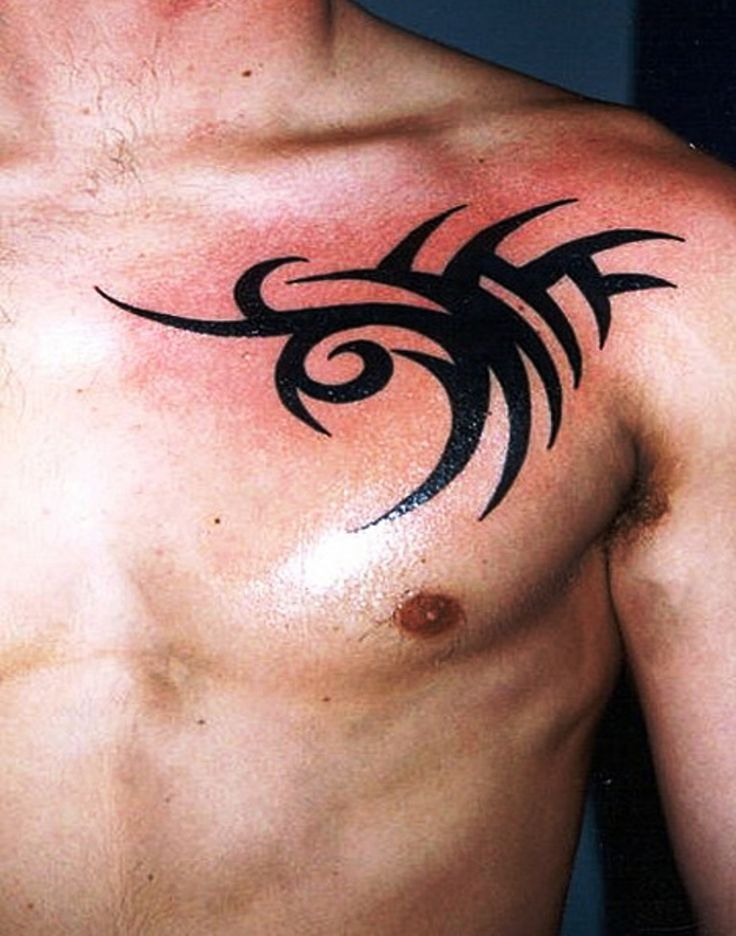 tribal chest tattoos designs ideas and meaning tattoos for you. Black Bedroom Furniture Sets. Home Design Ideas