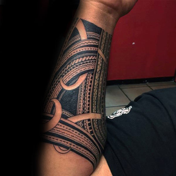 Tribal Forearm Tattoos Designs, Ideas and Meaning | Tattoos For You