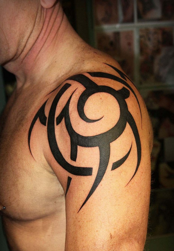 Tribal Shoulder Tattoos Designs, Ideas and Meaning ...