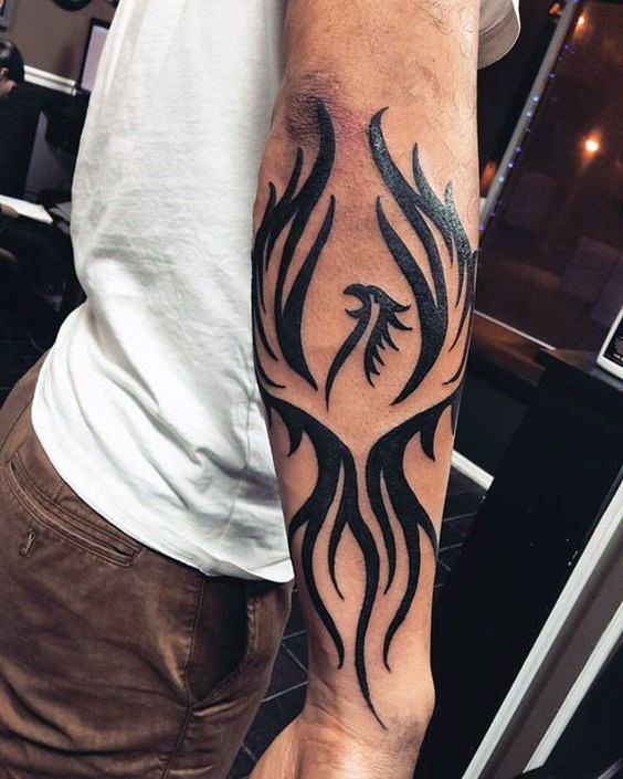 Tribal Forearm Tattoos Designs, Ideas and Meaning ...
