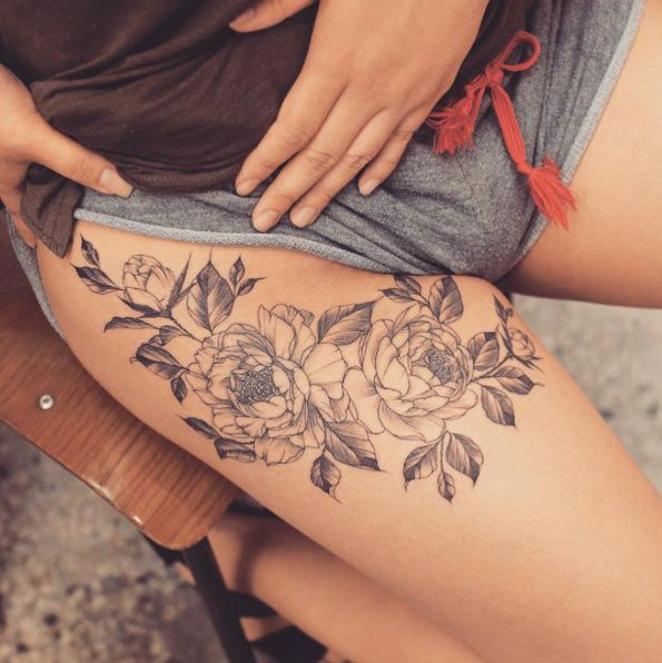 Upper Thigh Tattoos Designs Ideas And Meaning Tattoos For You