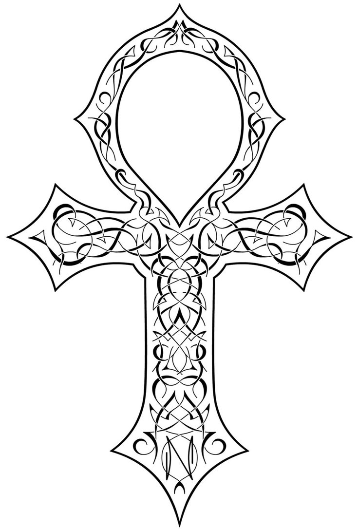 Ankh tattoo designs ideas and meaning tattoos for you biocorpaavc Gallery