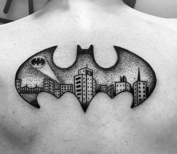 batman symbol tattoo designs ideas and meaning tattoos for you. Black Bedroom Furniture Sets. Home Design Ideas