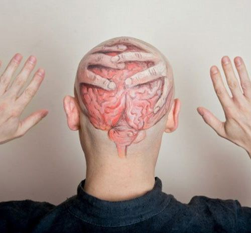 Brain Tattoo Designs, Ideas and Meaning   Tattoos For You