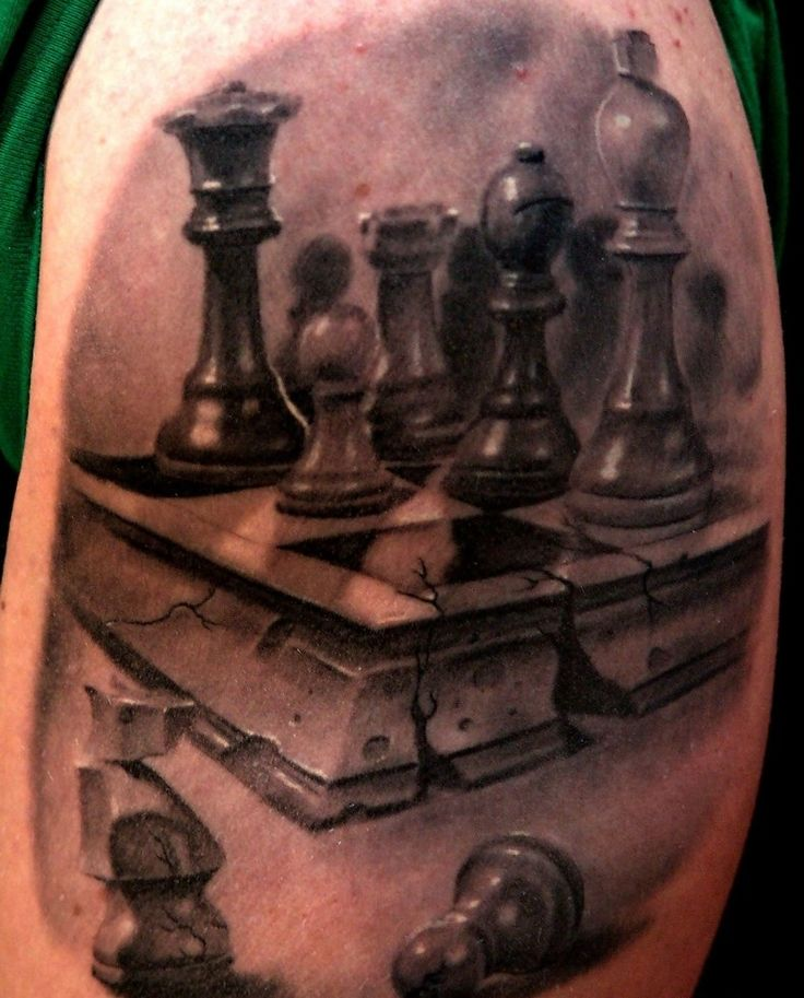 Chess Tattoo Designs, Ideas and Meaning | Tattoos For You