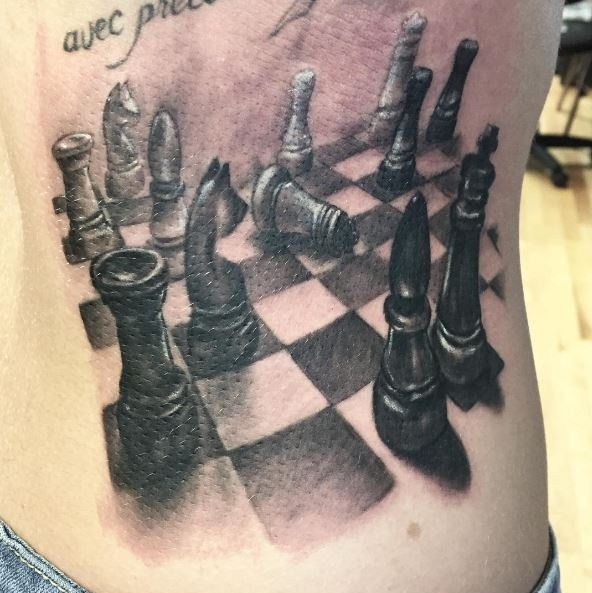 Board Game Ideas: Chess Tattoo Designs, Ideas And Meaning