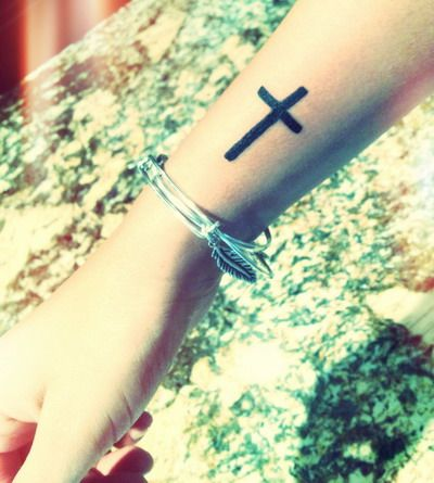 Cross Tattoos on Wrist Designs, Ideas and Meaning ...